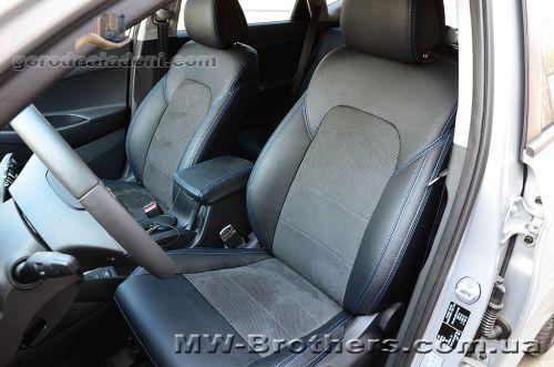 Чехлы для сидений на Hyundai Tucson (2016-н.д.)