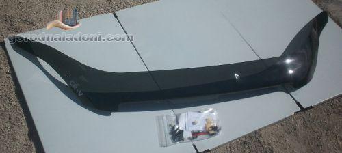 Аирдефлектор капота (мухобойка) Honda CR-V / 2007 – 2011 гг.в.
