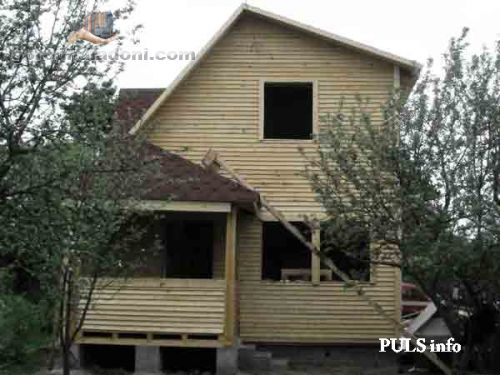 Дом для семьи в Донецке.
