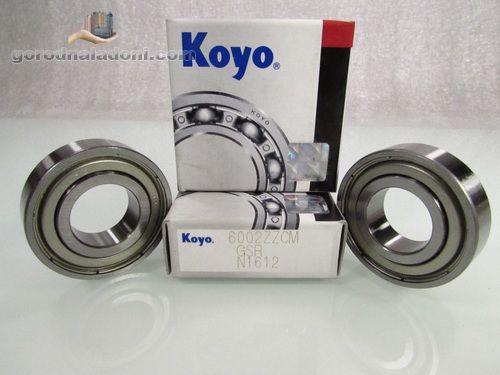 шариковые подшипники KOYO, закрытого типа 2RS и ZZ